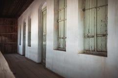 Vecchia casa d'annata Fotografia Stock