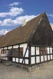 Vecchia casa danese immagine stock