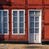 Vecchia casa in Danimarca Fotografia Stock