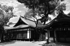 Vecchia casa del Giappone fotografia stock libera da diritti