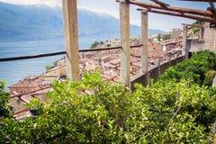 Vecchia casa del limone in polizia del sul di Limone, Italia Immagini Stock