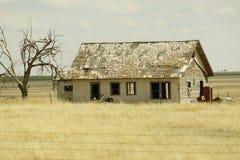 Vecchia casa del ranch del Texas Fotografie Stock