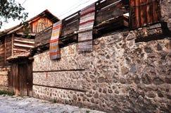 Vecchia casa del villaggio Immagine Stock