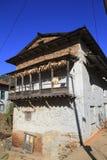 Vecchia casa dell'agricoltore Immagine Stock Libera da Diritti