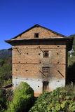 Vecchia casa dell'agricoltore Immagini Stock