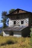 Vecchia casa dell'agricoltore Fotografia Stock Libera da Diritti