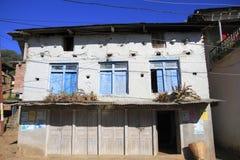 Vecchia casa dell'agricoltore Immagine Stock