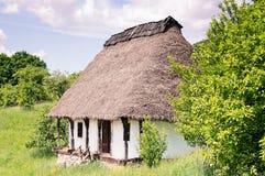 Vecchia casa dell'argilla Fotografia Stock Libera da Diritti