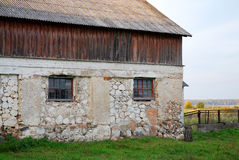 Vecchia casa dell'azienda agricola Fotografie Stock Libere da Diritti