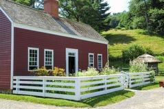 Vecchia casa dell'azienda agricola immagine stock