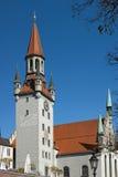 Vecchia casa della città di Monaco di Baviera Fotografia Stock Libera da Diritti