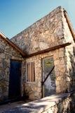 Vecchia casa della Crimea del calcare Fotografia Stock