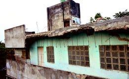 Vecchia casa di guerra immagine stock libera da diritti