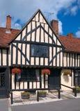 Vecchia casa di inglese di Tudor Fotografia Stock Libera da Diritti