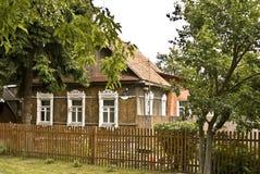 Vecchia casa di legno Immagine Stock Libera da Diritti