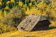 Vecchia casa di legno fotografie stock libere da diritti