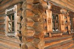 Vecchia casa di legno immagini stock libere da diritti