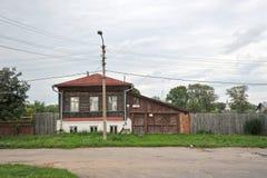 Vecchia casa di legno Immagine Stock