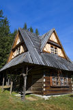 Vecchia casa di legno Fotografia Stock Libera da Diritti