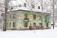 Vecchia casa di pietra Fotografia Stock Libera da Diritti