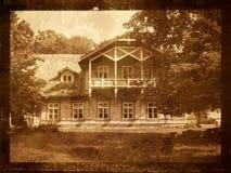 Vecchia casa di proprietà terriera Immagini Stock
