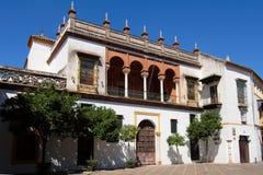 Vecchia casa di Sevillan Fotografia Stock