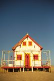 Vecchia casa di spiaggia Immagini Stock Libere da Diritti