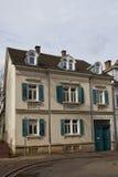 Vecchia casa due-leggendaria in Offenburg, Germania Immagine Stock