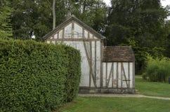 Vecchia casa francese Fotografie Stock Libere da Diritti