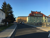 Vecchia casa in Freital, Sassonia immagini stock