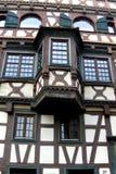 Vecchia casa in Germania Fotografia Stock
