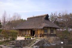 Vecchia casa giapponese Immagini Stock Libere da Diritti