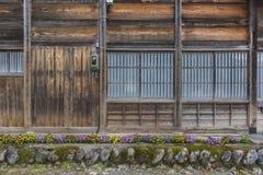 Vecchia casa giapponese dell'azienda agricola Fotografie Stock Libere da Diritti