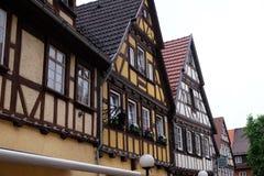 Vecchia casa a graticcio in Aalen, Germania Immagine Stock