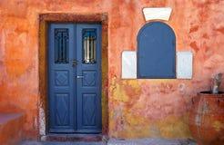 Vecchia casa in Grecia Fotografia Stock Libera da Diritti