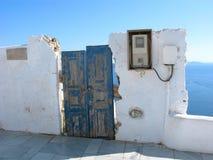 Vecchia casa, Grecia, Santorini immagine stock libera da diritti
