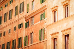 Vecchia casa italiana tradizionale Fotografia Stock Libera da Diritti