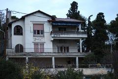 Vecchia casa in kalamaria Immagini Stock