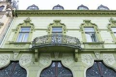 Vecchia casa in Kaposvar Fotografie Stock Libere da Diritti