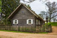 Vecchia casa in Lituania Fotografia Stock Libera da Diritti