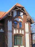 Vecchia casa, Lituania Immagini Stock