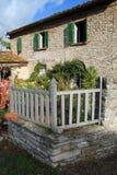 Vecchia casa mediterranea Fotografia Stock