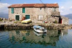 Vecchia casa Montenegro Immagine Stock Libera da Diritti
