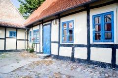 Vecchia casa in Nakskov Fotografia Stock