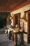 Vecchia casa naturale Immagini Stock