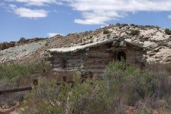 Vecchia casa negli arché parco nazionale, Utah, unito immediatamente Fotografia Stock