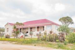 Vecchia casa in Nuwerus fotografie stock
