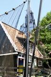 Vecchia casa olandese del pescatore fotografia stock libera da diritti