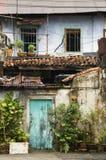 Vecchia casa, Penang, Malesia fotografia stock