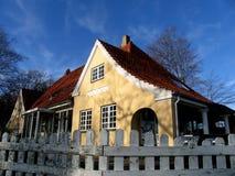 Vecchia casa piacevole Fotografia Stock Libera da Diritti